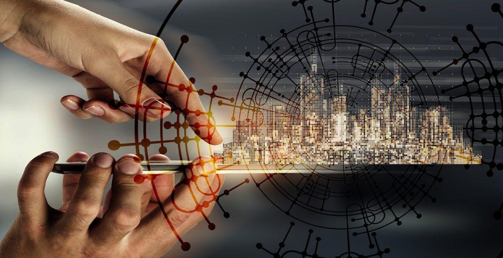 A conexão entre diferentes dispositivos é chamada de internet das coisas.
